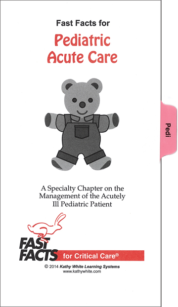 Fast Facts Optional Chapter: Pediatrics