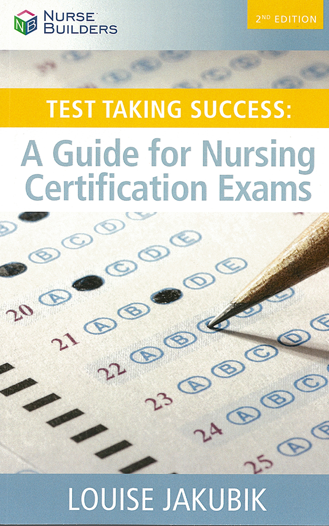 test taking success a guide for nursing certification exams aacn
