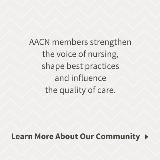 American association of critical care nurses aacn get involved yadclub Choice Image